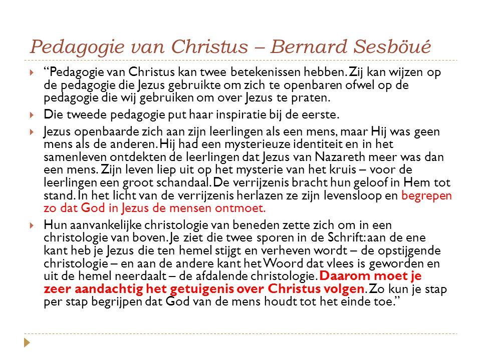 Pedagogie van Christus – Bernard Sesböué