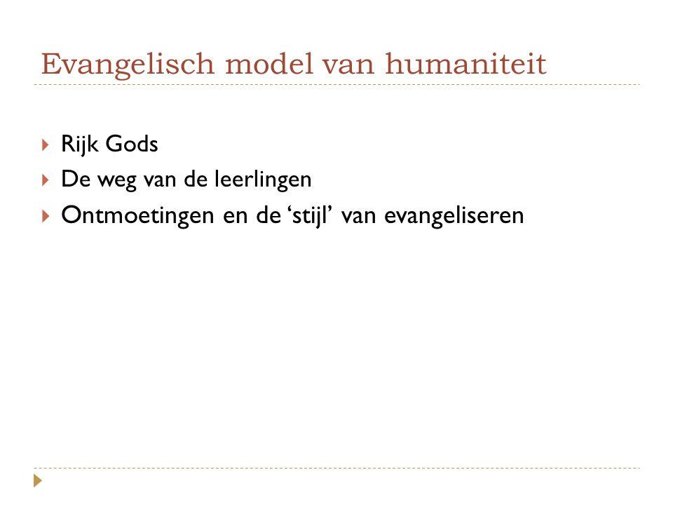Evangelisch model van humaniteit