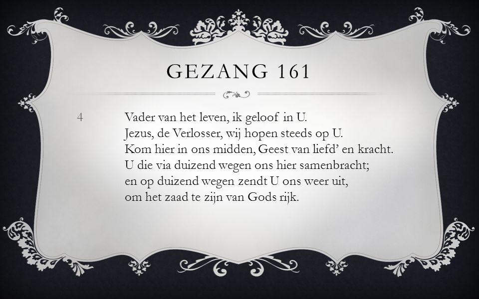 Gezang 161