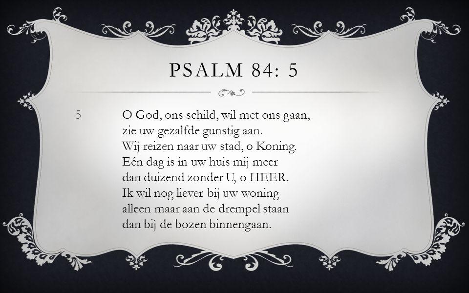 Psalm 84: 5