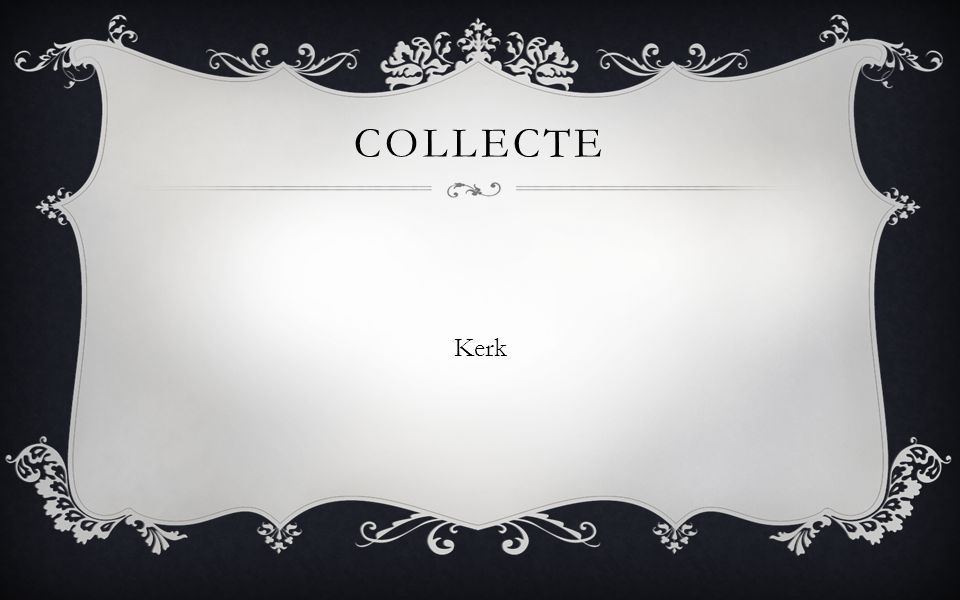 Collecte Kerk