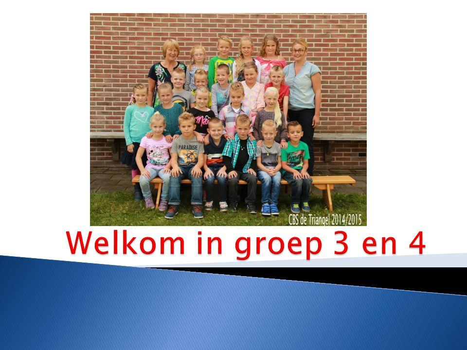 Welkom in groep 3 en 4