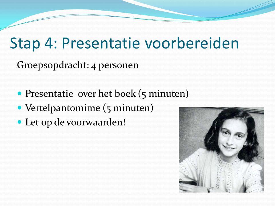 Stap 4: Presentatie voorbereiden