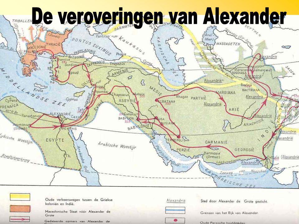 De veroveringen van Alexander