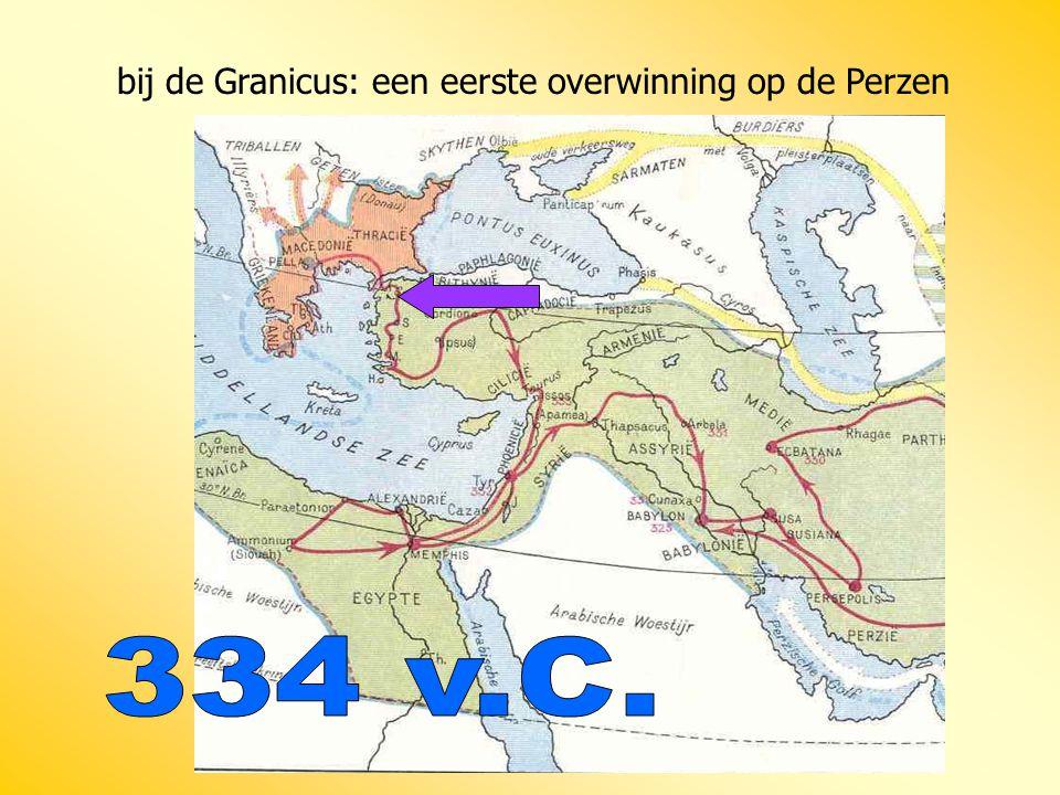 bij de Granicus: een eerste overwinning op de Perzen