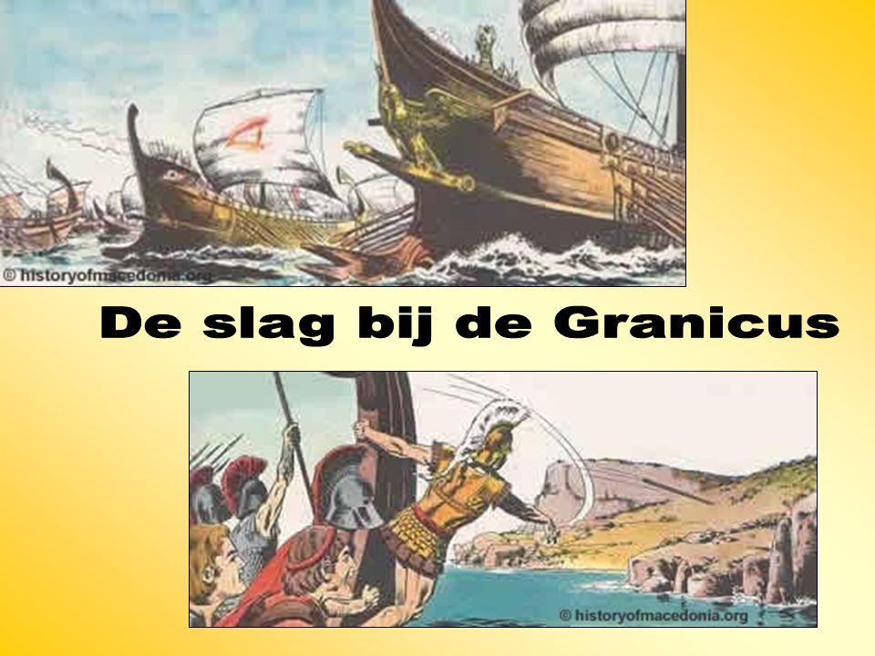 De slag bij de Granicus
