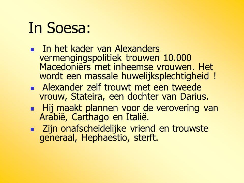 In Soesa: