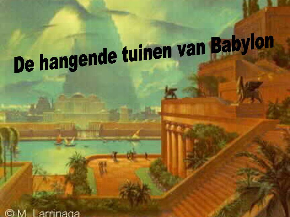De hangende tuinen van Babylon