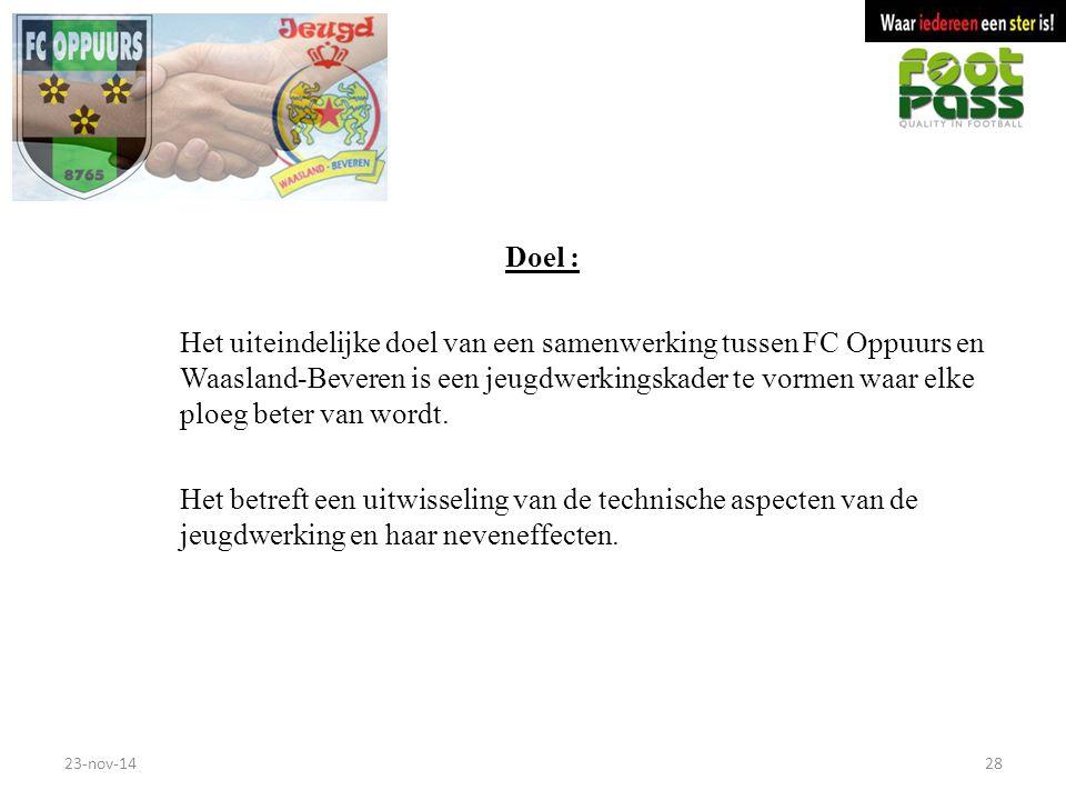 Doel :