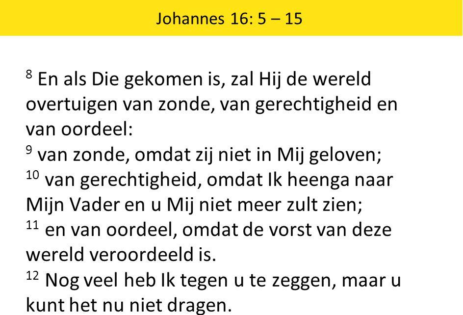 9 van zonde, omdat zij niet in Mij geloven;