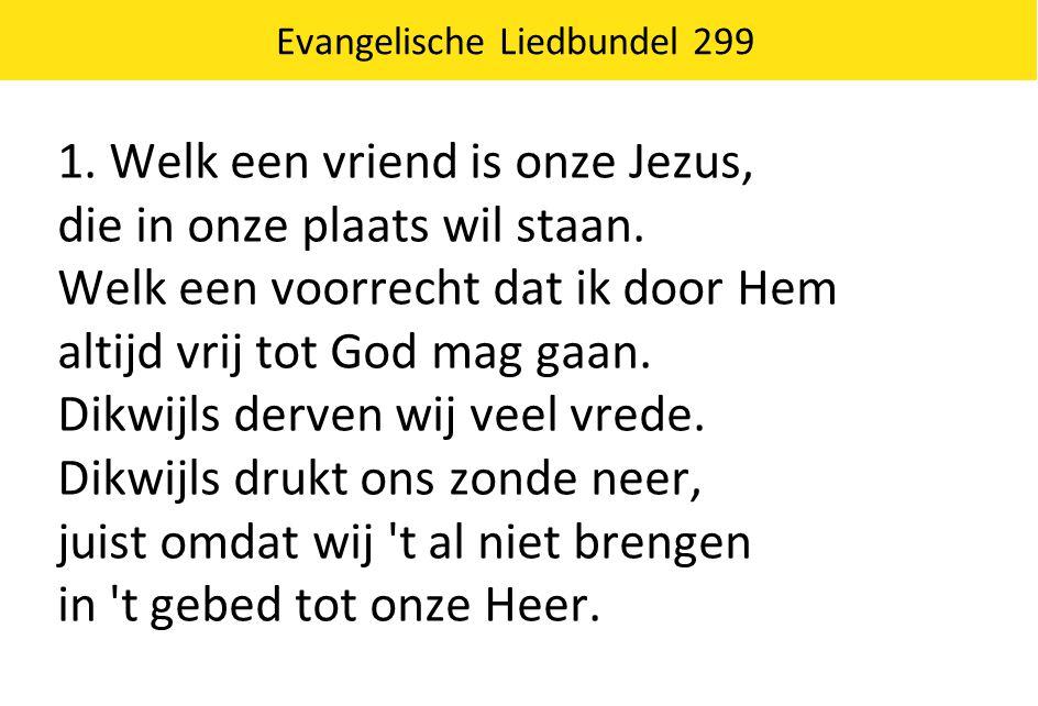 Evangelische Liedbundel 299