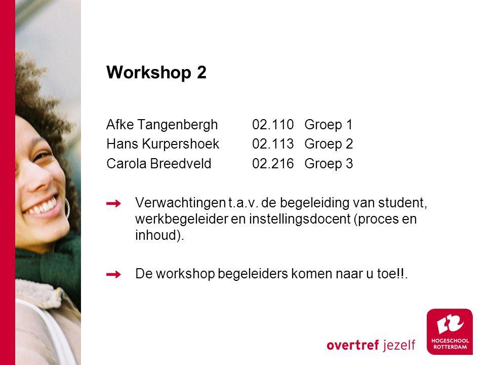 Workshop 2 Afke Tangenbergh 02.110 Groep 1