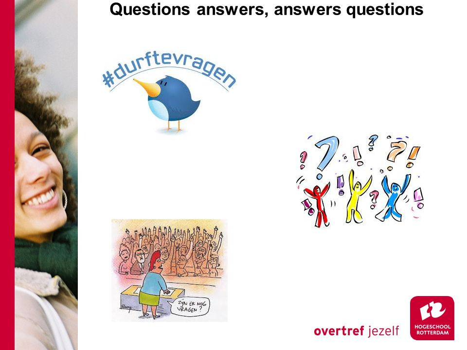 Questions answers, answers questions
