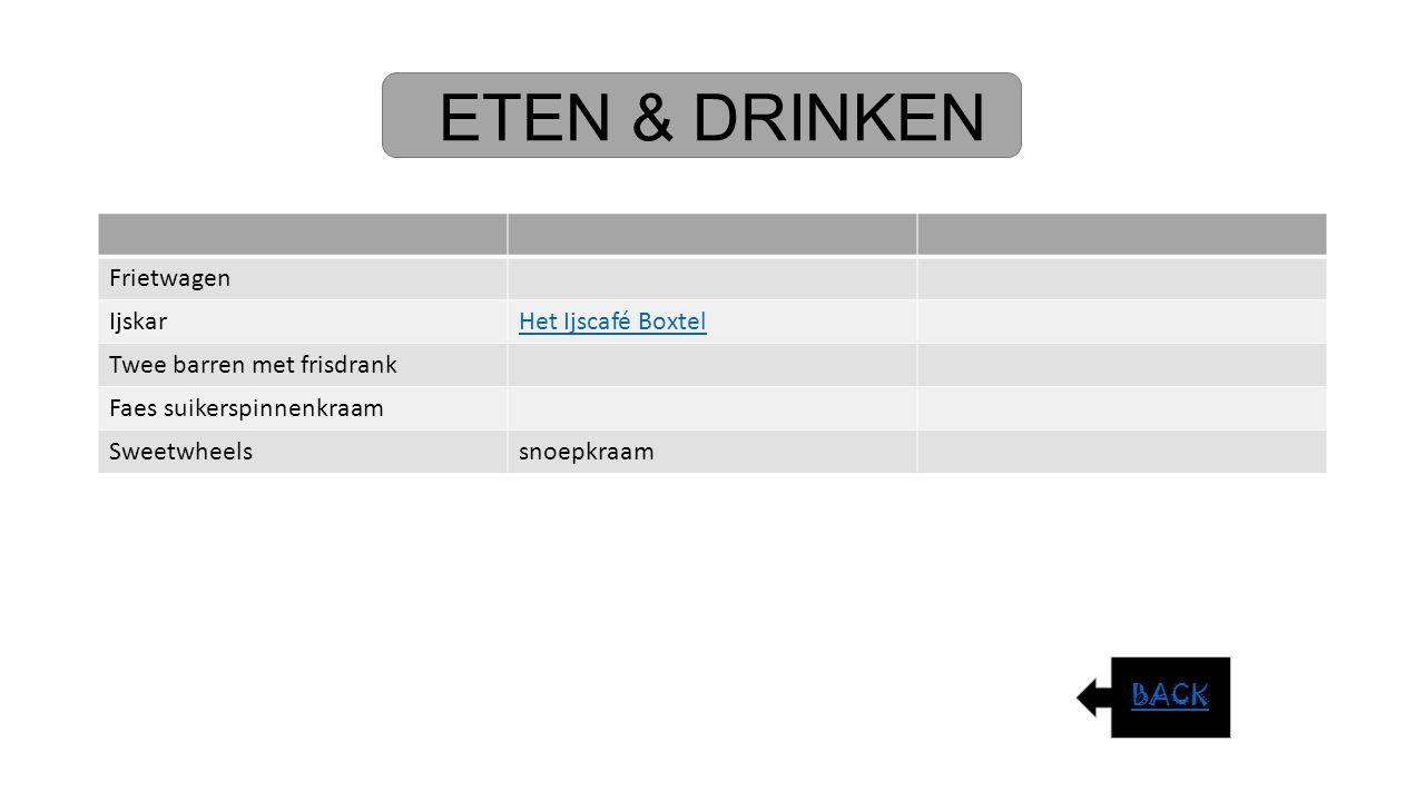 ETEN & DRINKEN Frietwagen Ijskar Het Ijscafé Boxtel