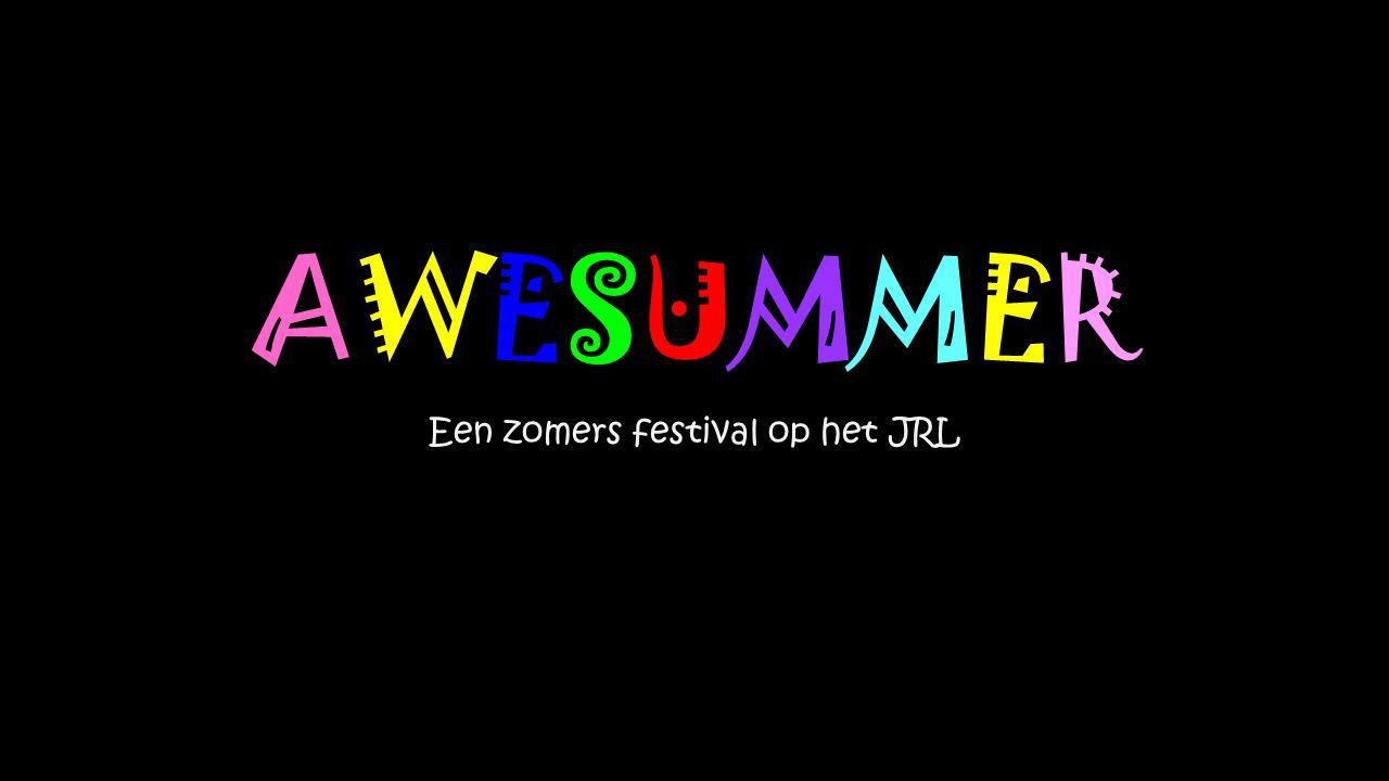 Een zomers festival op het JRL