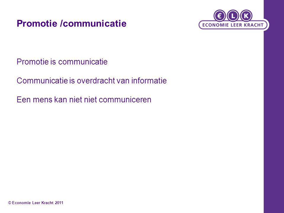 Promotie /communicatie