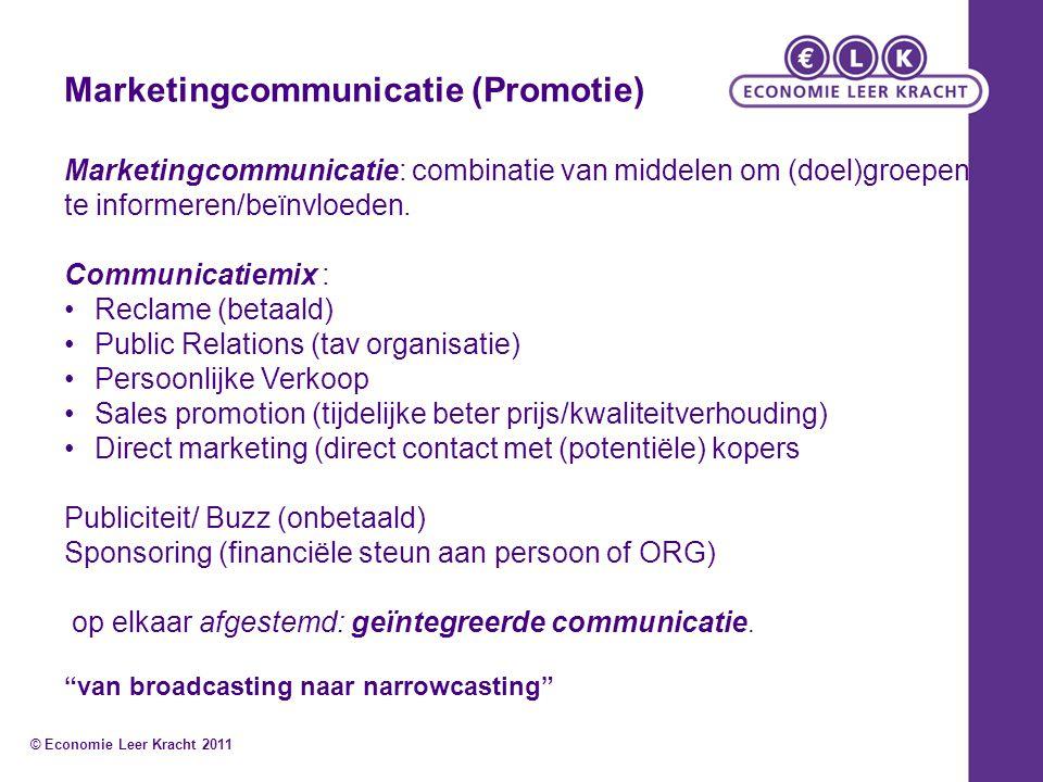 Marketingcommunicatie (Promotie)