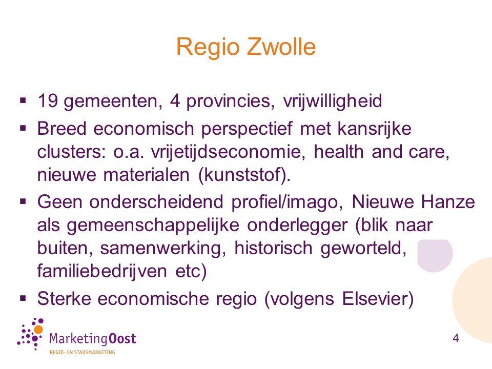 Regio Zwolle 19 gemeenten, 4 provincies, vrijwilligheid