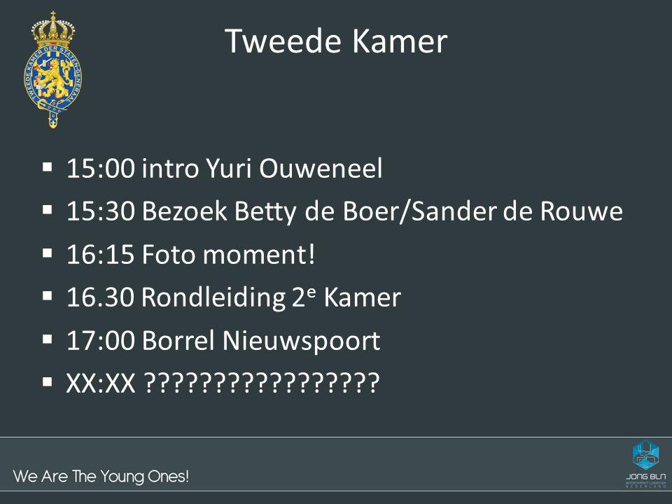 Tweede Kamer 15:00 intro Yuri Ouweneel