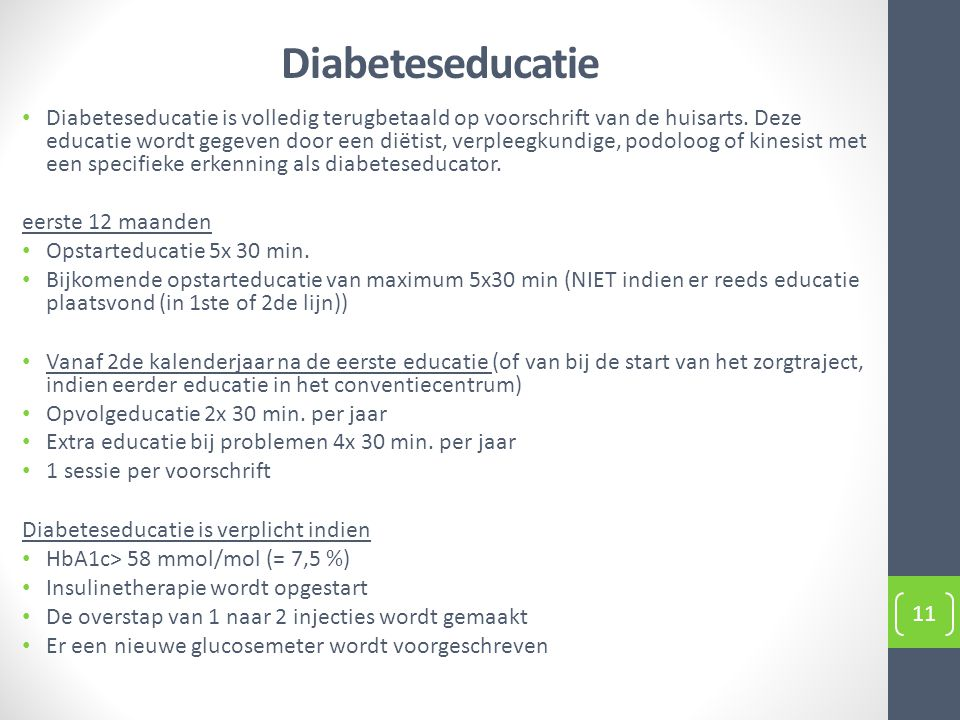 Diabeteseducatie