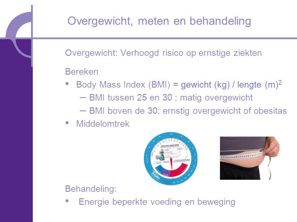 Overgewicht, meten en behandeling