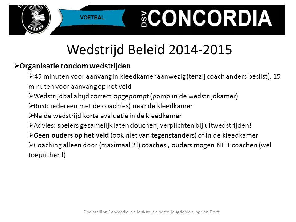 Doelstelling Concordia: de leukste en beste jeugdopleiding van Delft