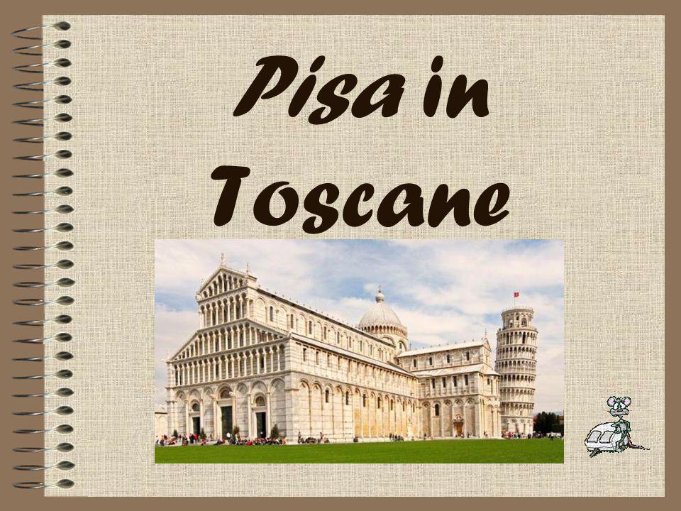 Pisa in Toscane