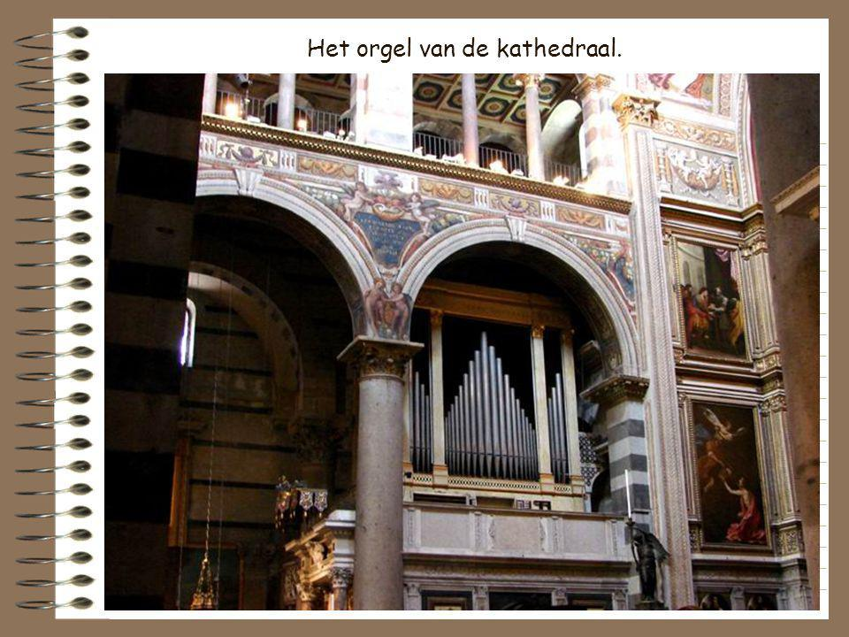 Het orgel van de kathedraal.