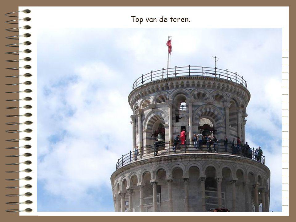 Top van de toren.