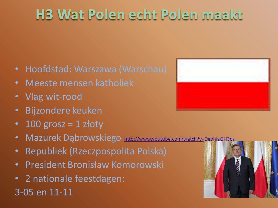 H3 Wat Polen echt Polen maakt