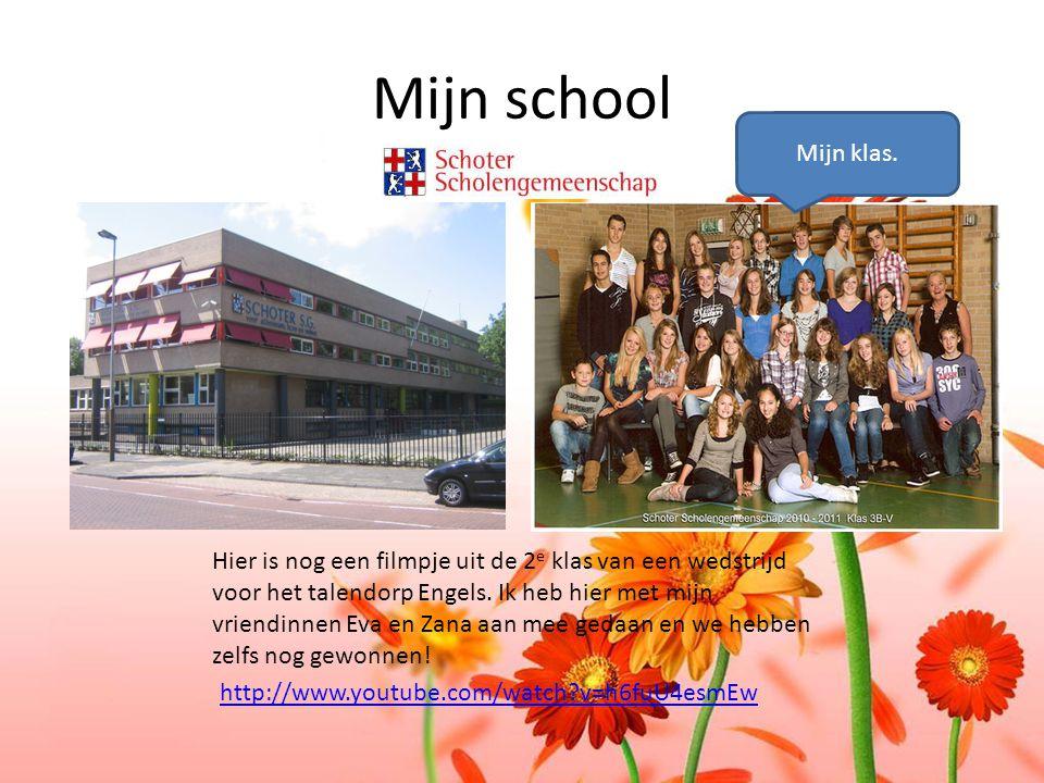 D. Mijn school. Mijn klas.
