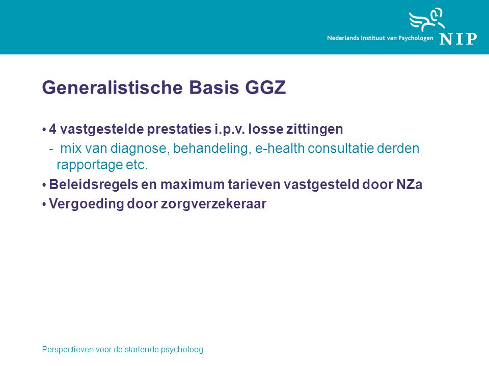 Generalistische Basis GGZ