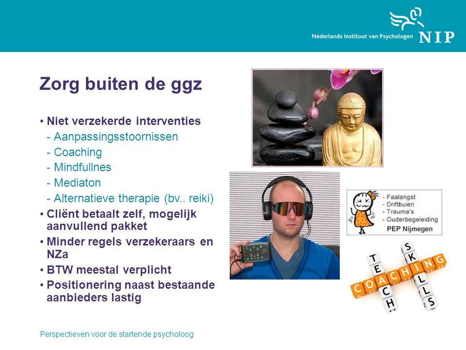 Zorg buiten de ggz Niet verzekerde interventies Aanpassingsstoornissen