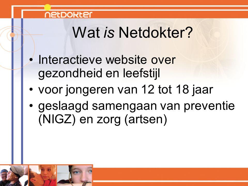 Wat is Netdokter Interactieve website over gezondheid en leefstijl