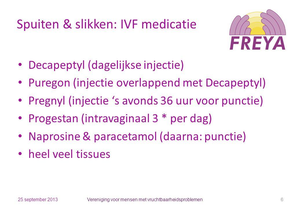 Spuiten & slikken: IVF medicatie