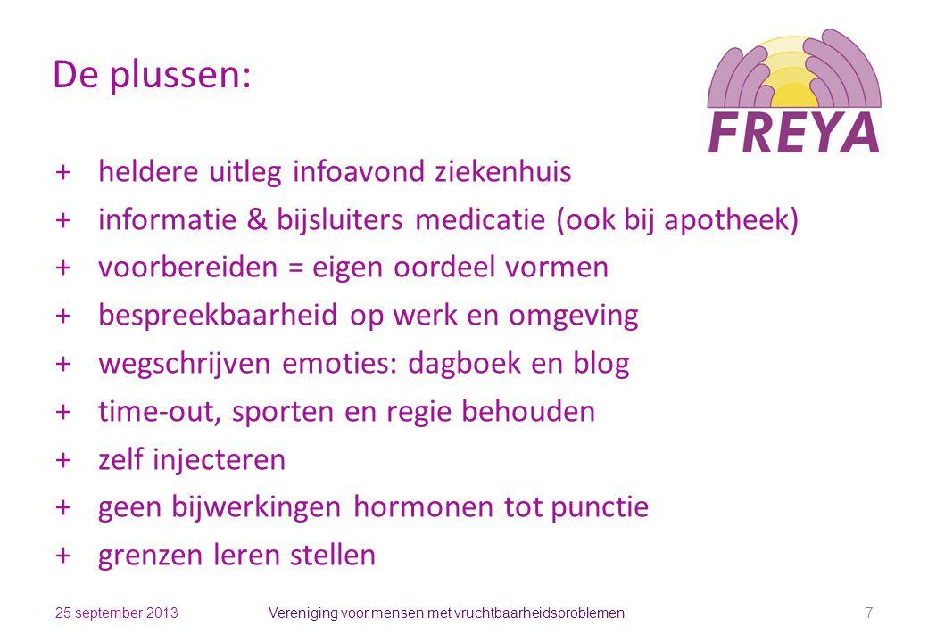 Vereniging voor mensen met vruchtbaarheidsproblemen