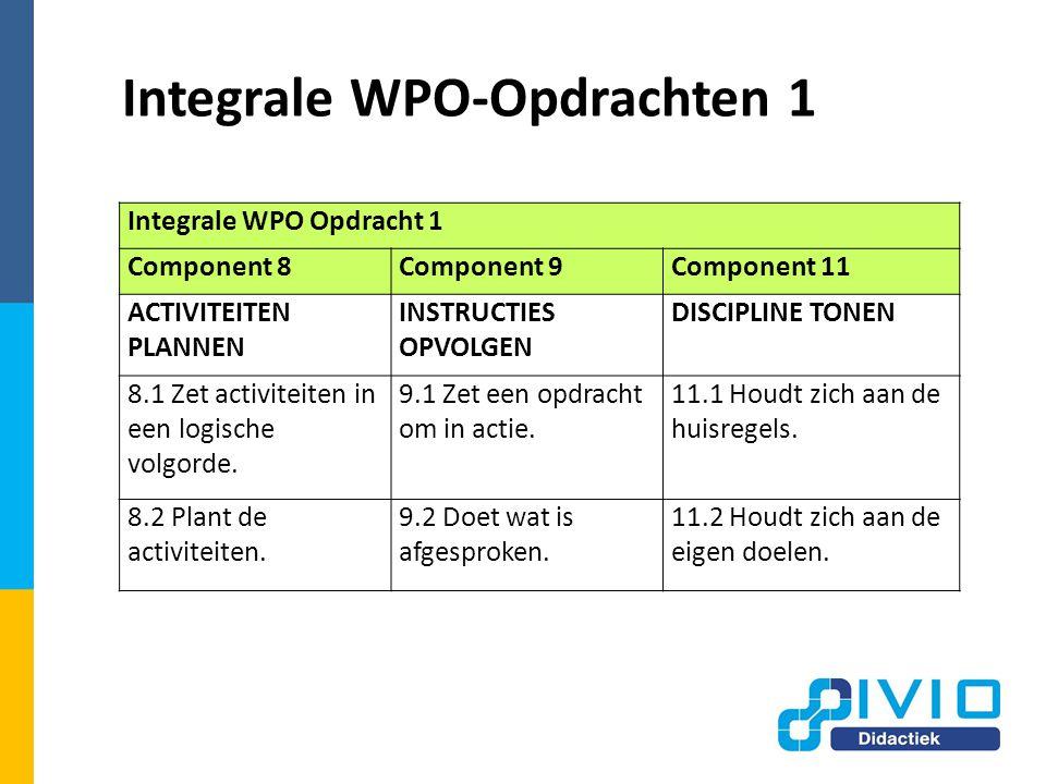 Integrale WPO-Opdrachten 1