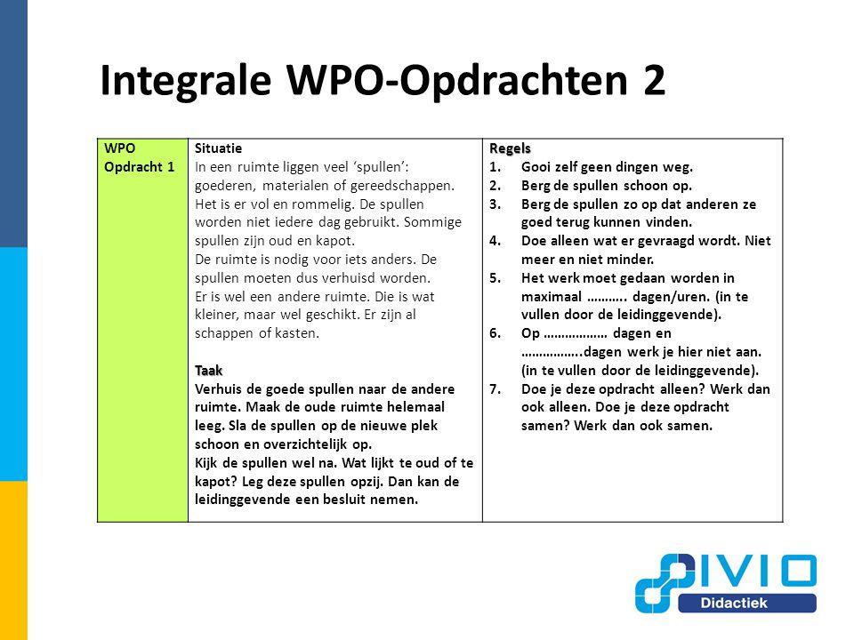 Integrale WPO-Opdrachten 2