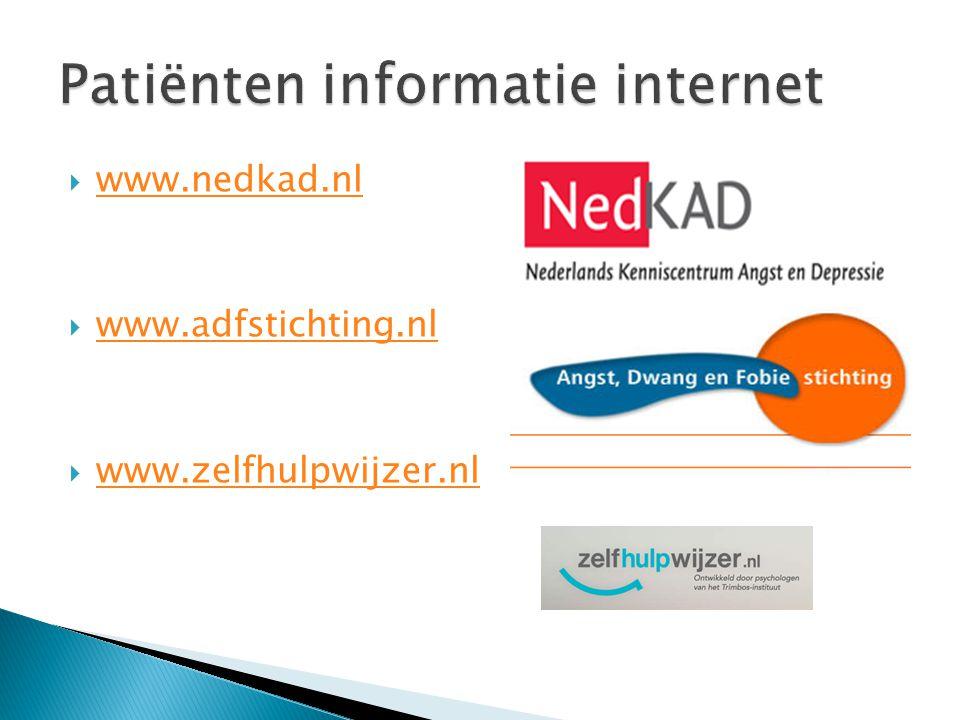 Patiënten informatie internet