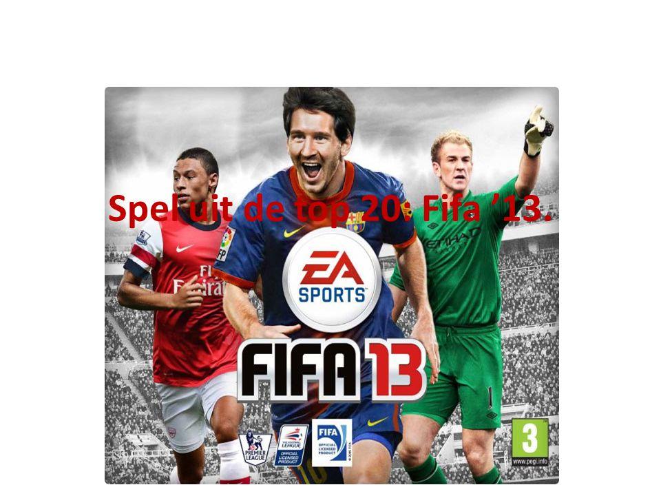 Spel uit de top 20: Fifa '13.