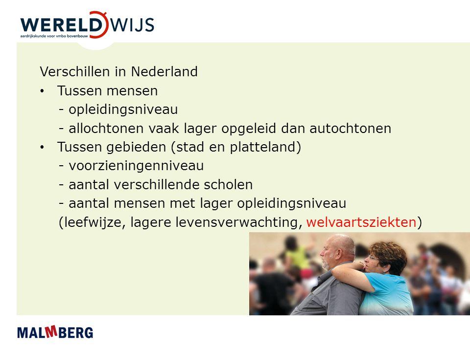 Verschillen in Nederland
