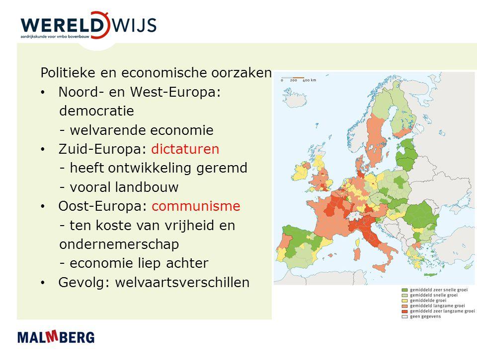 Politieke en economische oorzaken