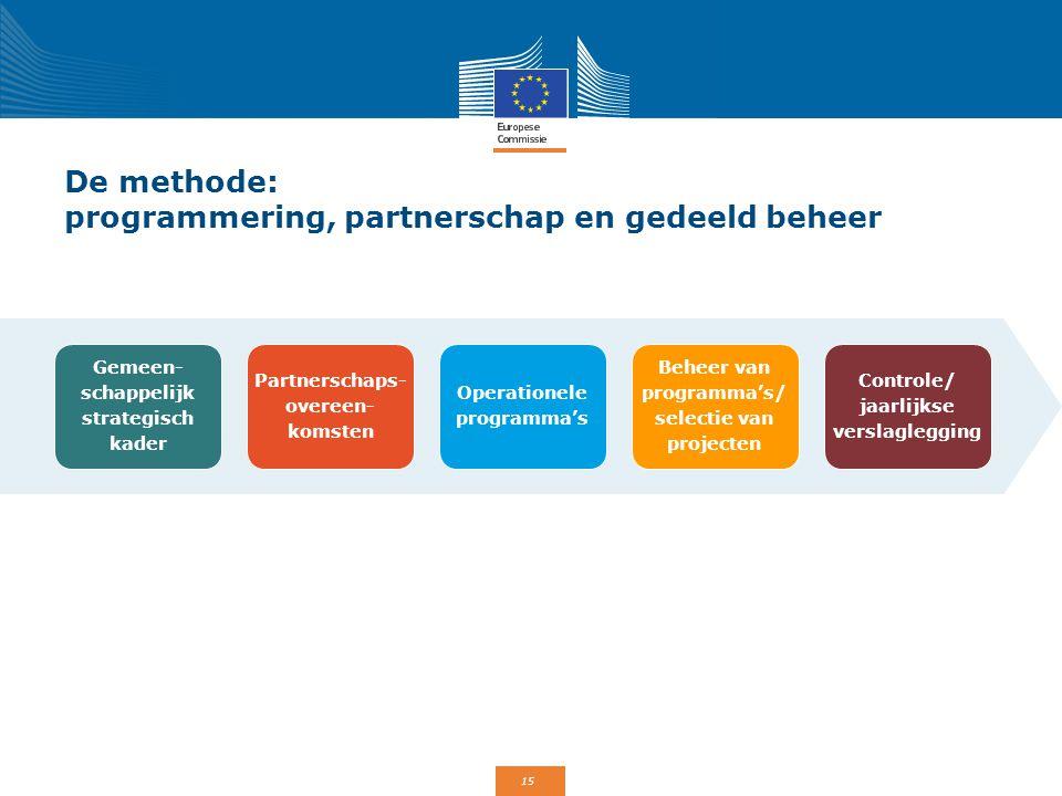 De methode: programmering, partnerschap en gedeeld beheer