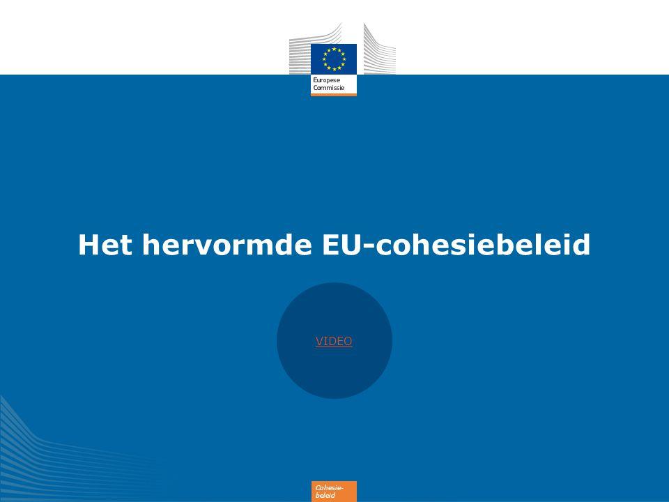 Het hervormde EU-cohesiebeleid