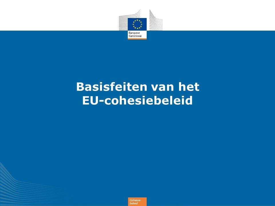 Basisfeiten van het EU-cohesiebeleid