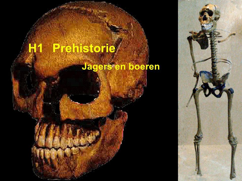 H1 Prehistorie Jagers en boeren
