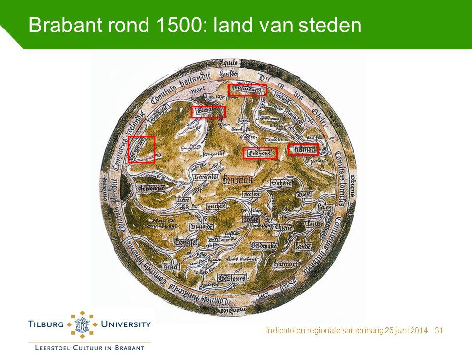 Brabant rond 1500: land van steden