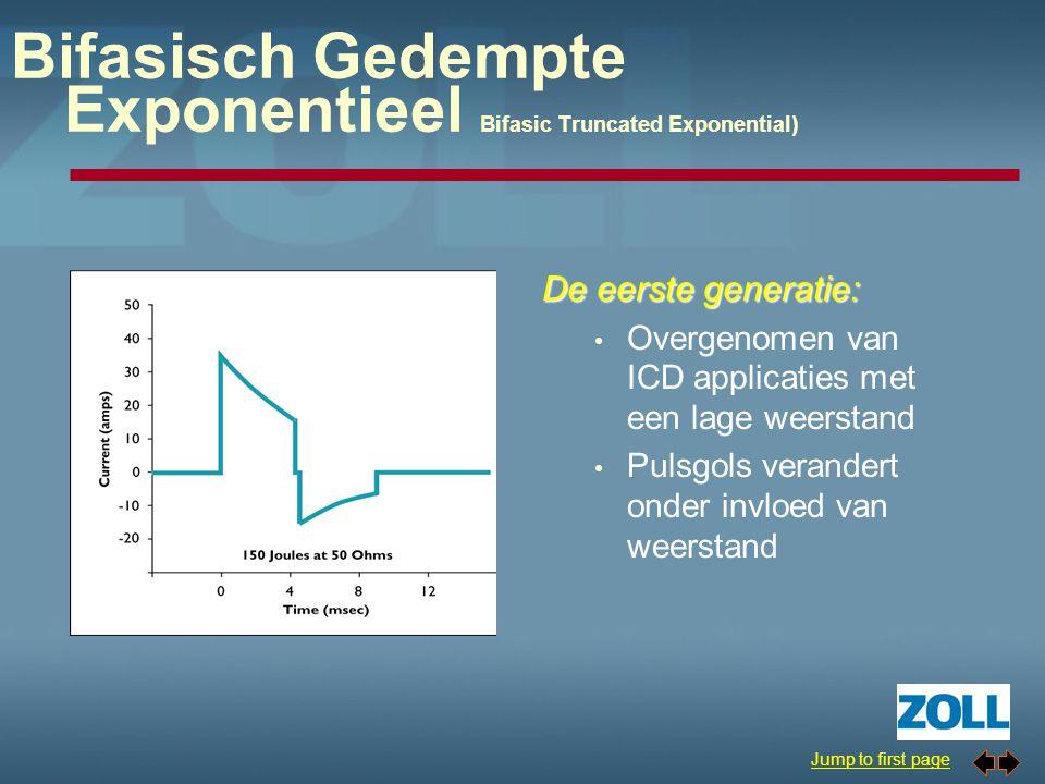 Bifasisch Gedempte Exponentieel Bifasic Truncated Exponential)