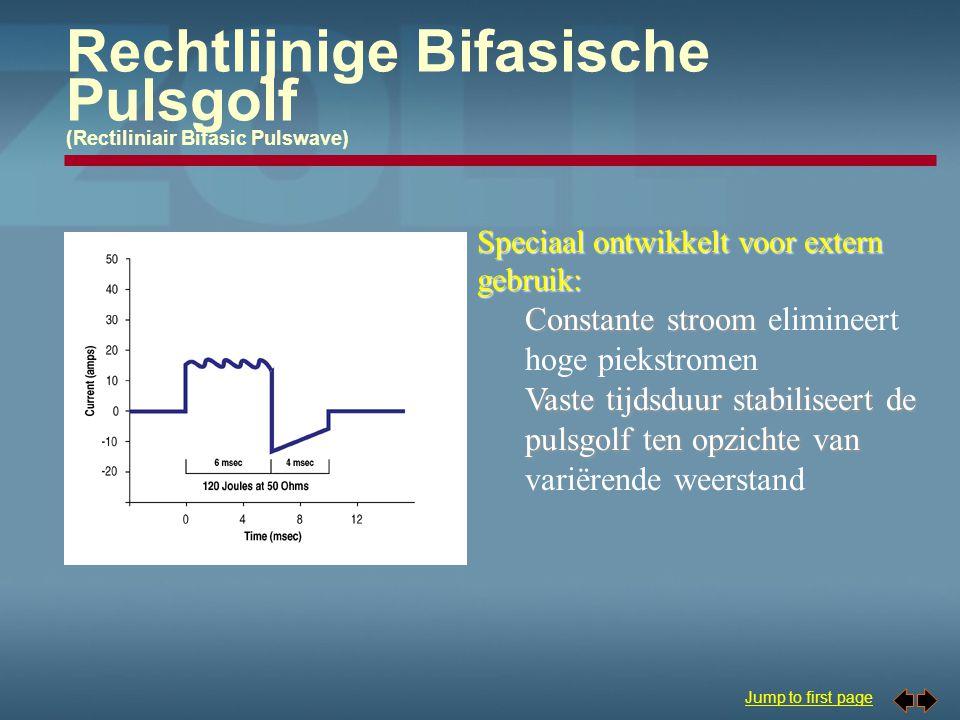 Rechtlijnige Bifasische Pulsgolf (Rectiliniair Bifasic Pulswave)