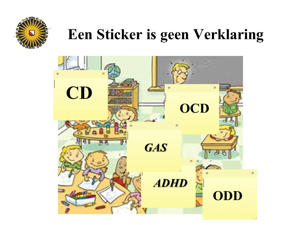 Een Sticker is geen Verklaring